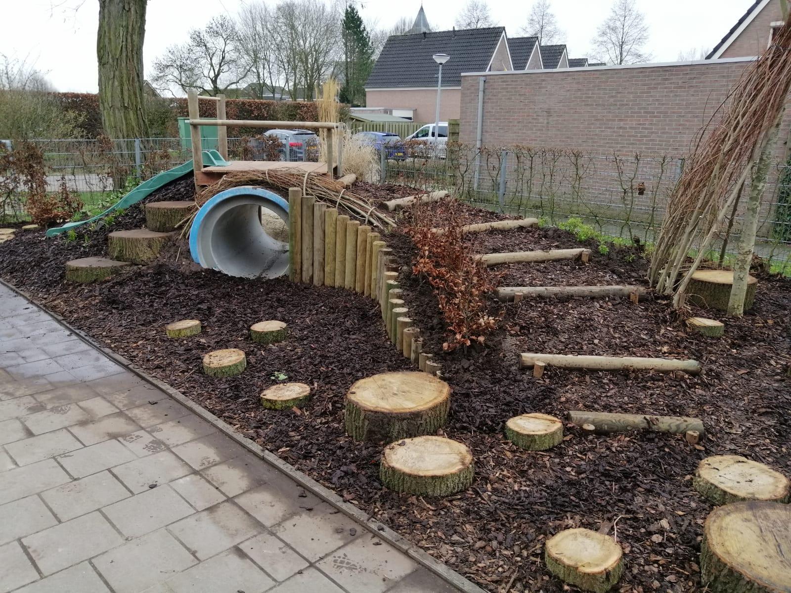 vernieuwde tuin